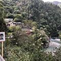 Photos: 黒部峡谷 人喰岩より(黒部市)