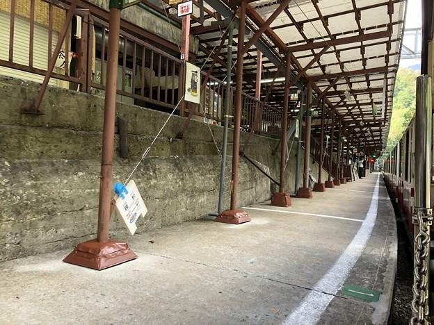 黒部峡谷鉄道 鐘釣駅(黒部市)
