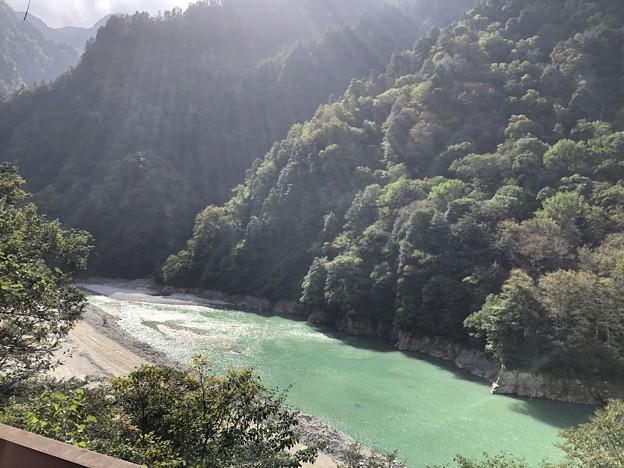 黒部峡谷鉄道(黒部市)