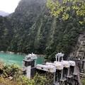 Photos: 黒部峡谷鉄道 出し平ダム(黒部市)