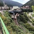 Photos: やまびこ展望台より宇奈月駅(黒部市)