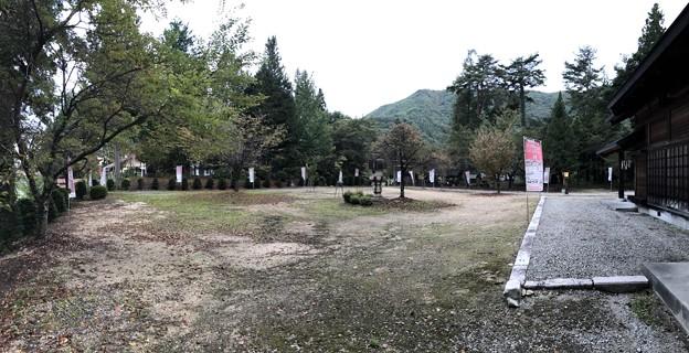 仁科神社(仁科城・森城。大町市)