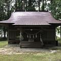 Photos: 阿部神社(仁科城・森城。大町市)