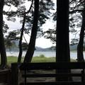 木崎湖キャンプ場(仁科城・森城。大町市)