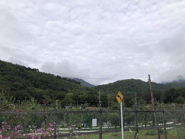 Photos: 黒部ビューホテル(大町市)駐車場より