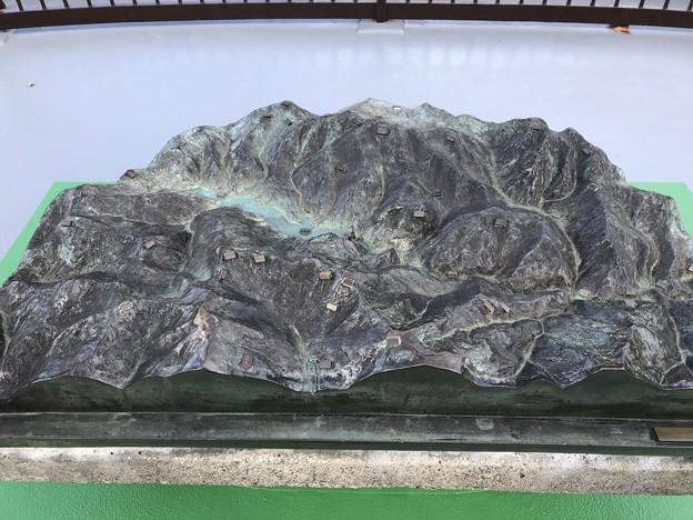 黒部ダム 展望台(富山県中新川郡立山町)ジオラマ