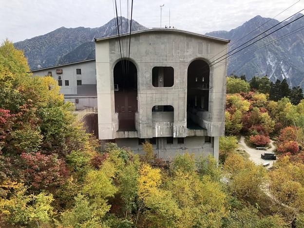立山ロープウェイ景観 黒部平駅(立山町)