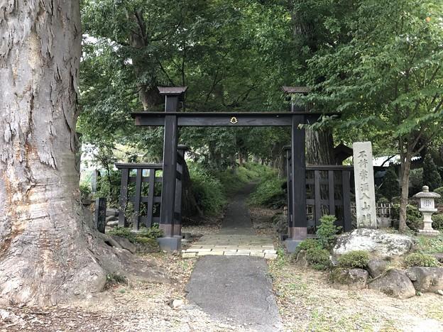 廣澤寺(松本市)惣門