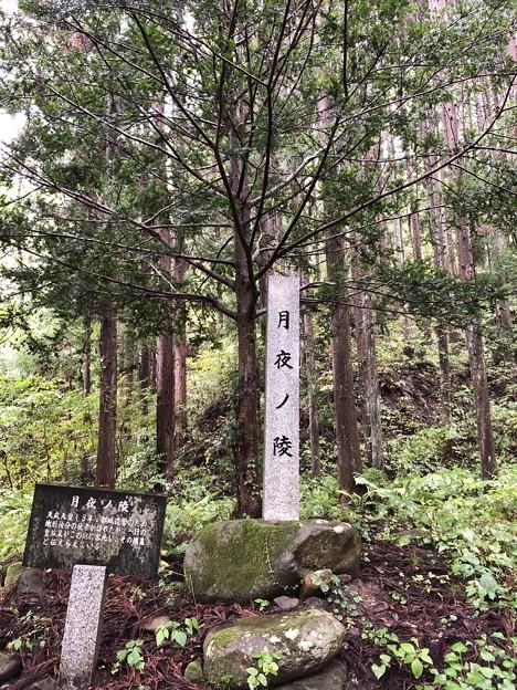 月夜ノ陵(長野市鬼無里)