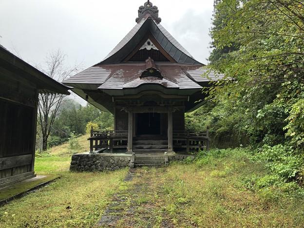 文珠堂(長野市鬼無里)