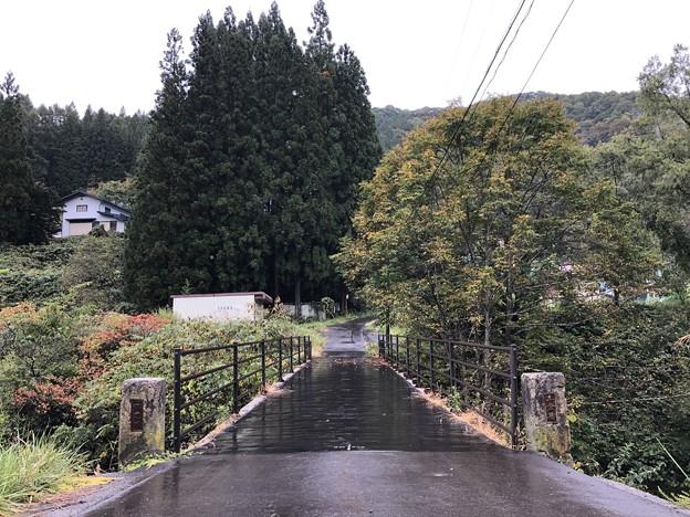 裾花川 ・土倉橋(長野市鬼無里)