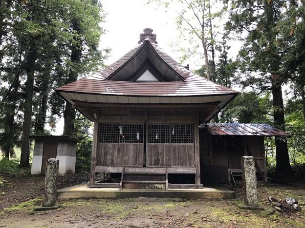 西京・春日神社(長野市鬼無里)拝殿