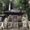 東京・加茂神社(長野市鬼無里)拝殿