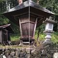 東京・加茂神社(長野市鬼無里)狛犬