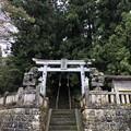 Photos: 白髯神社(長野市鬼無里)