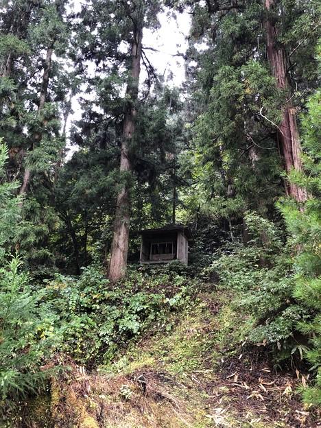 白髯神社(長野市鬼無里)