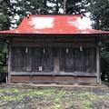 白髯神社(長野市鬼無里)神楽殿? 舞殿?