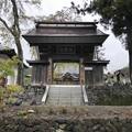 松巌寺(長野市鬼無里)山門