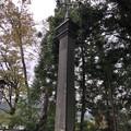 鬼無里神社(長野市鬼無里)ガス灯?
