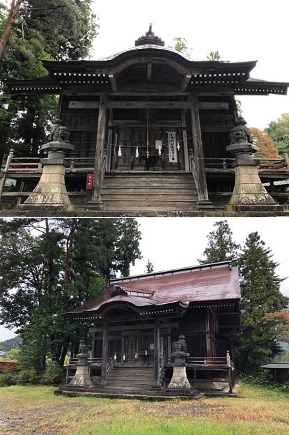 鬼無里神社(長野市鬼無里)拝殿