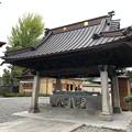 善光寺(長野市元善町)手水舎