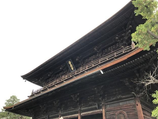 善光寺(長野市元善町)山門