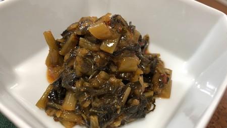 野沢菜キムチ――善光寺みやげ