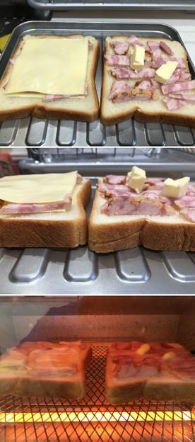 沖縄アグー豚ベーコン5――トースト2種