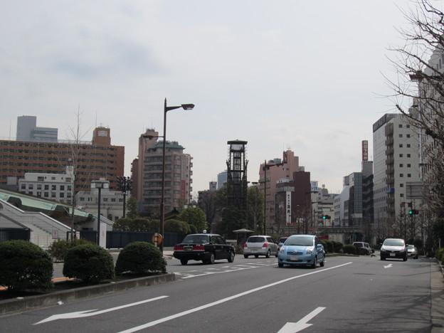 御竹蔵跡(墨田区横網1丁目)國技館