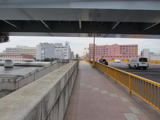 蔵前橋東詰南側(墨田区)