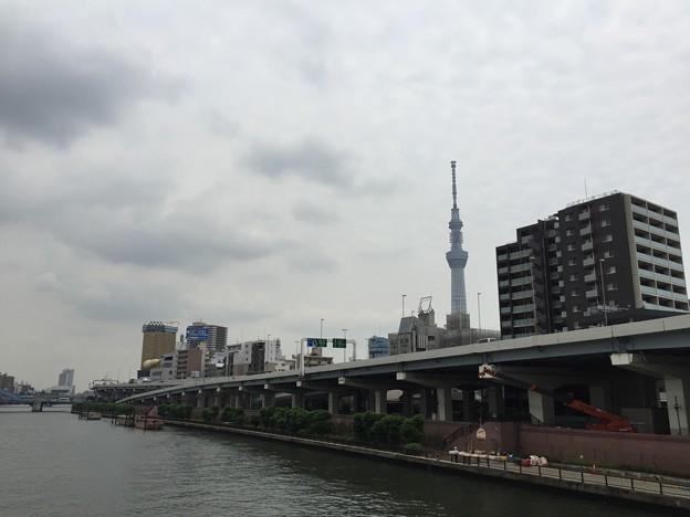Photos: 厩橋より北(墨田区本所1丁目)
