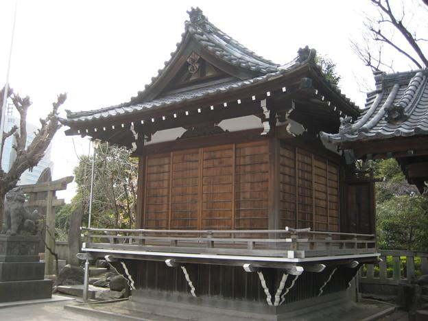 牛嶋神社(墨田区向島)舞殿