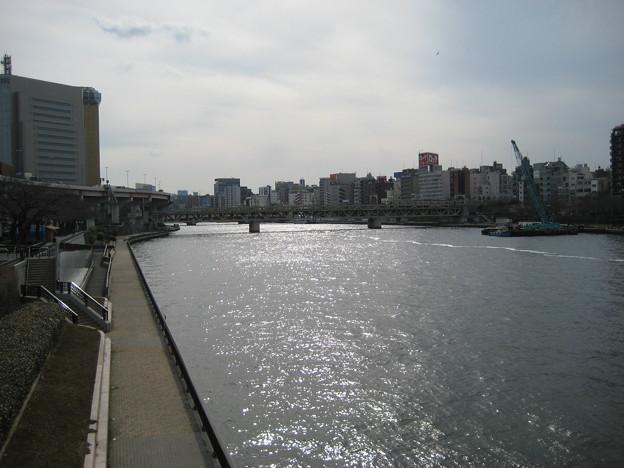 言問橋東詰南側(墨田区向島)