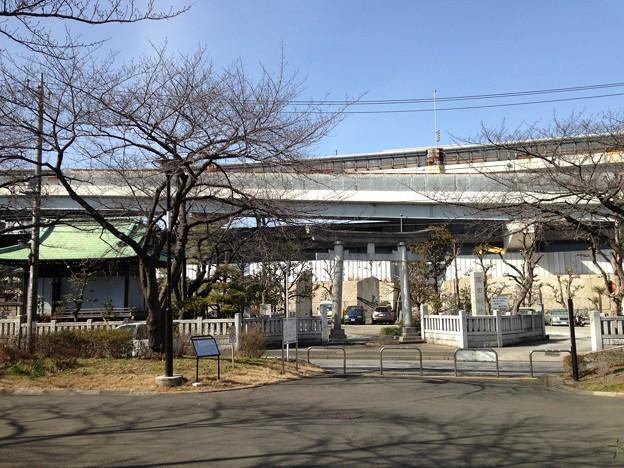 隅田川神社(墨田区堤通2丁目)