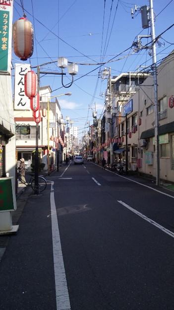 大正道路 旧玉ノ井(墨田区東向島5丁目)いろは通り 玉ノ井商店街