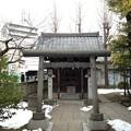 小村井香取神社(墨田区文花2丁目)諏訪神社