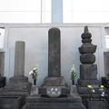 法恩寺(墨田区太平1丁目)日住聖人墓 ・歴代聖人墓 ・太田道灌家供養塔