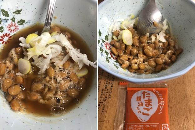泰造CMの納豆(゜ω、゜)