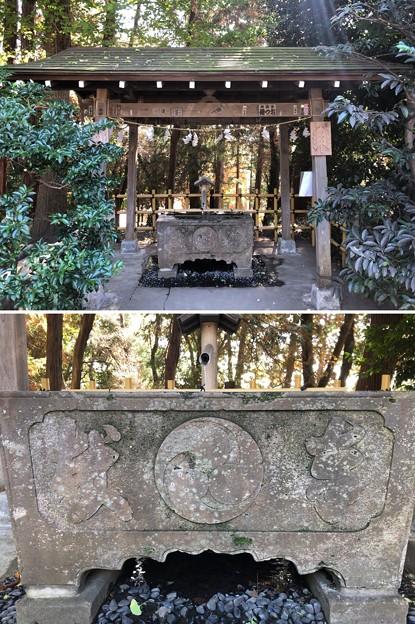 Photos: 二宮神社(あきる野市)手水舎