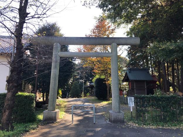 二宮神社(あきる野市)北鳥居