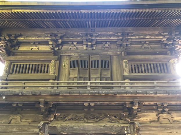 大悲願寺(あきる野市)仁王門(楼門)