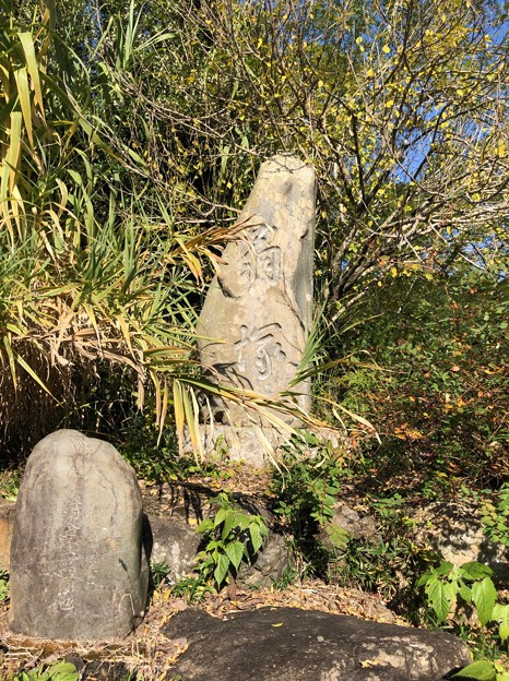 Photos: 開光院(あきる野市)明治・昭和 翁塚