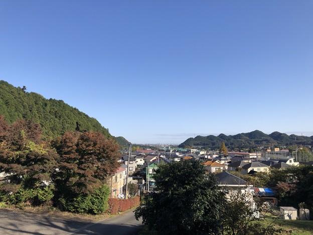 Photos: 開光院(あきる野市)門前より23区