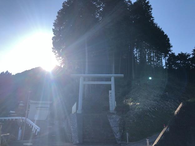 戸倉三島神社(あきる野市)一の鳥居