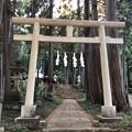 戸倉三島神社(あきる野市)二の鳥居