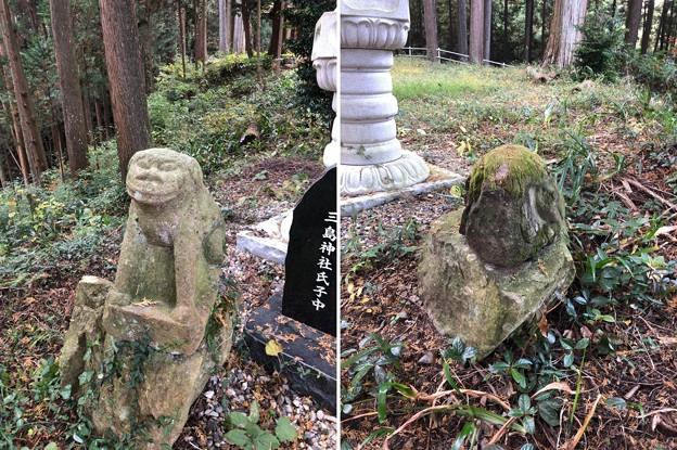 戸倉三島神社(あきる野市)狛犬