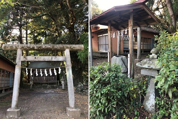 戸倉白山神社(坂下白山神社。あきる野市)