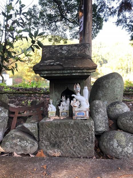 Photos: 戸倉白山神社(坂下白山神社。あきる野市)稲荷社