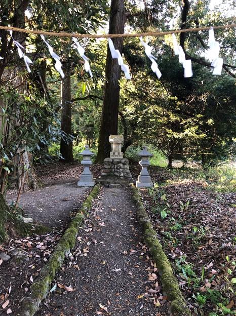 戸倉白山神社(坂下白山神社。あきる野市)八雲社
