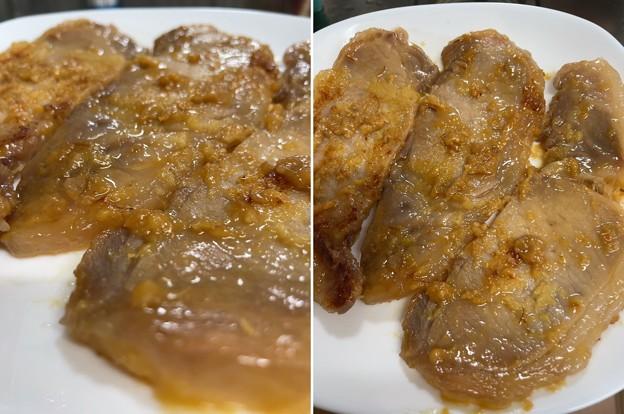 秩父豚味噌漬け2――生姜焼き